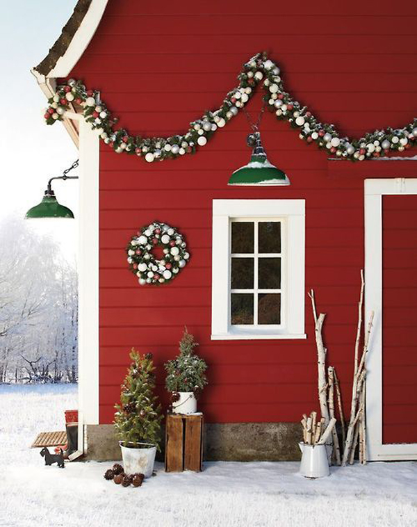 Best Outdoor Scandinavian Christmas Designs This Month