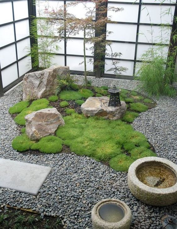 Best 15 Mix Modern Japanese Courtyard With Nature House This Month