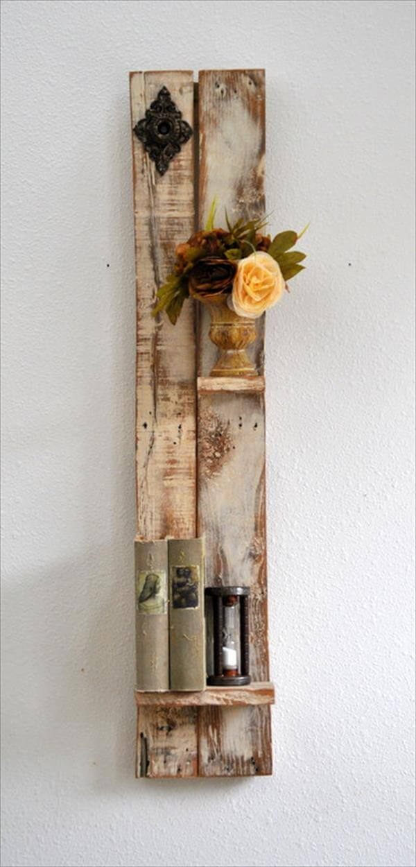 Best Diy Decorative Shelf Made From Pallets Wood Pallet This Month