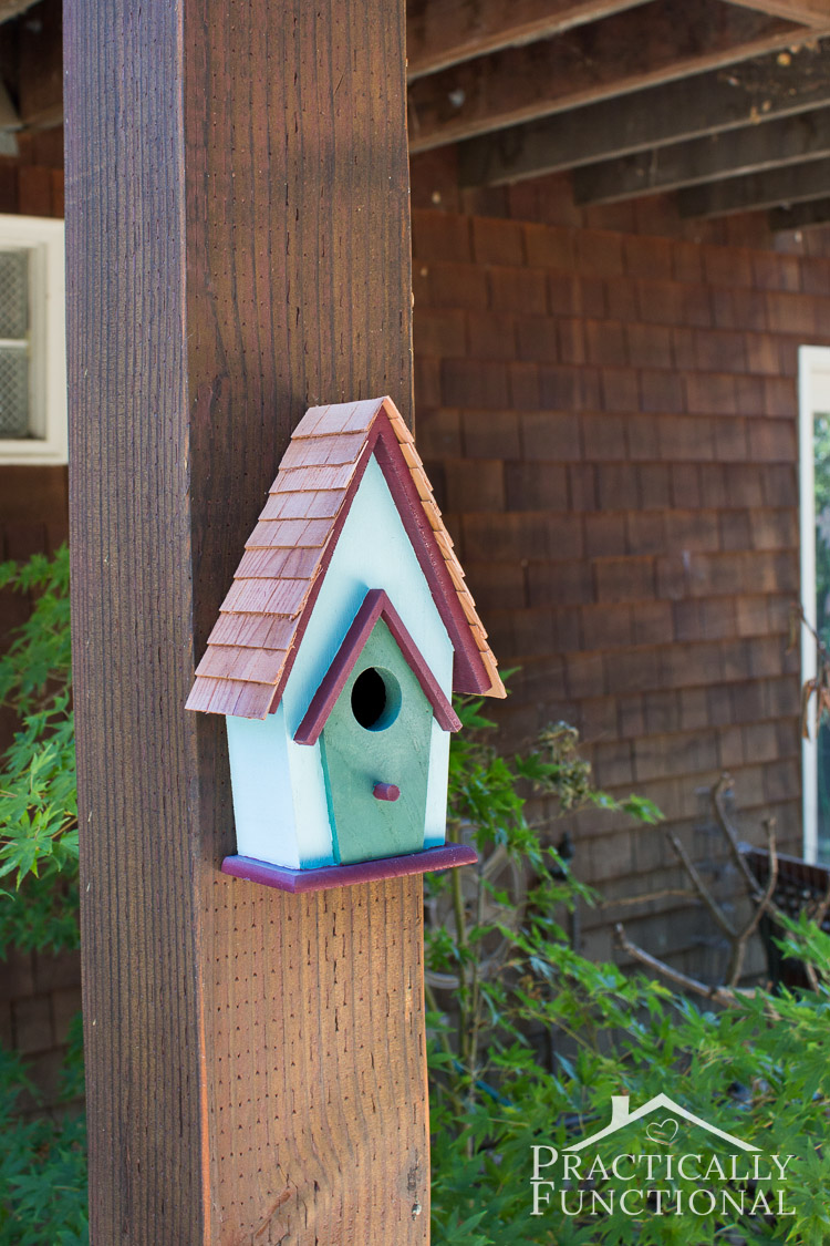 Best Simple Backyard Decorating Ideas Paint A Birdhouse This Month
