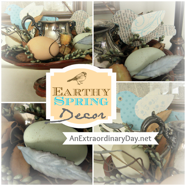 Best Home Decor Earthy Spring Vignette An Extraordinary Day This Month