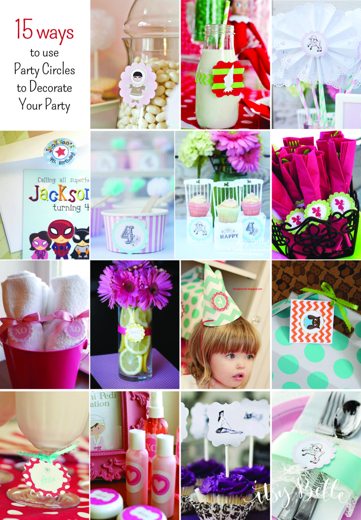 Best Diy Party On A Budget 15 Ideas For Using Party Circles This Month
