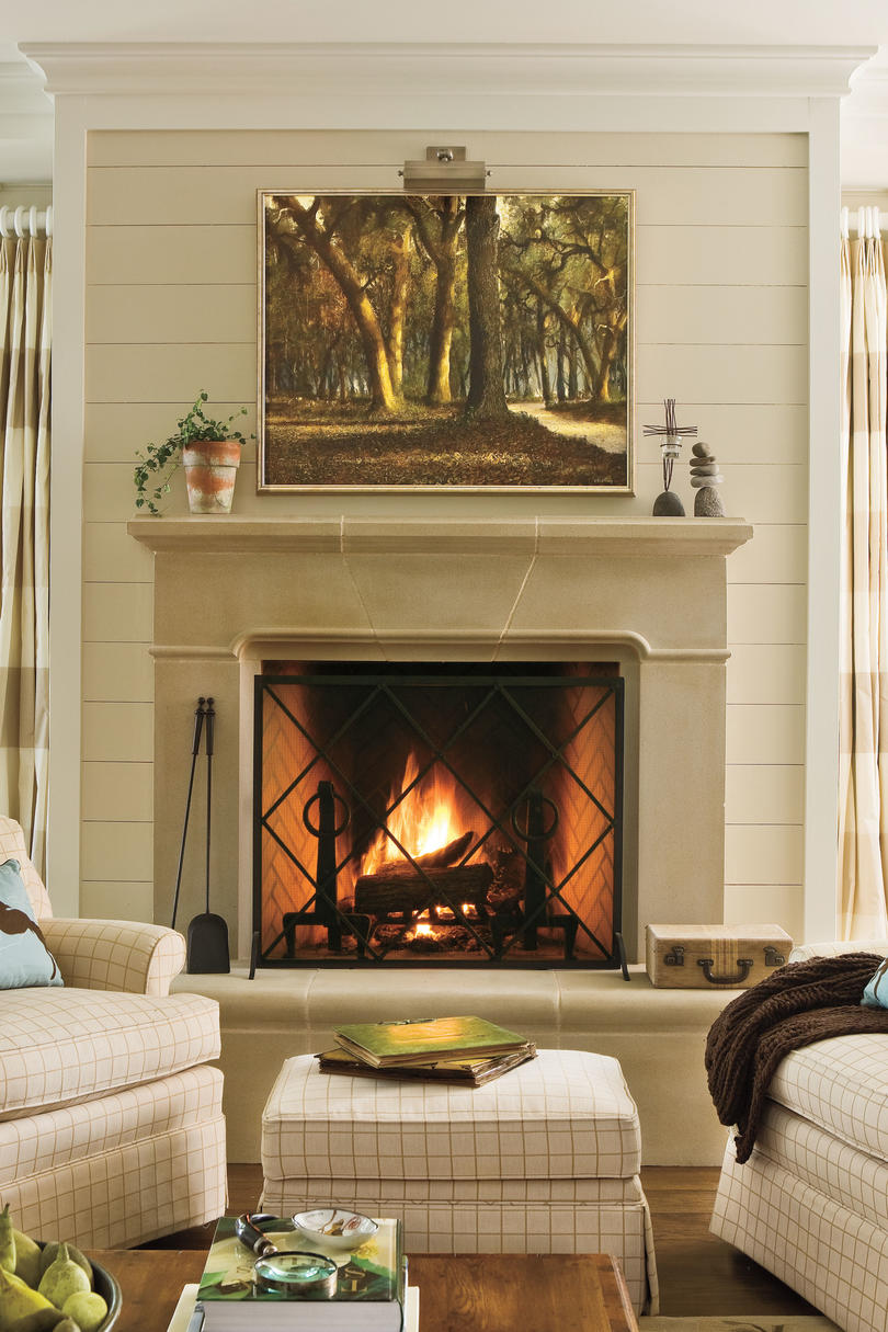 Best 25 Cozy Ideas For Fireplace Mantels Southern Living This Month