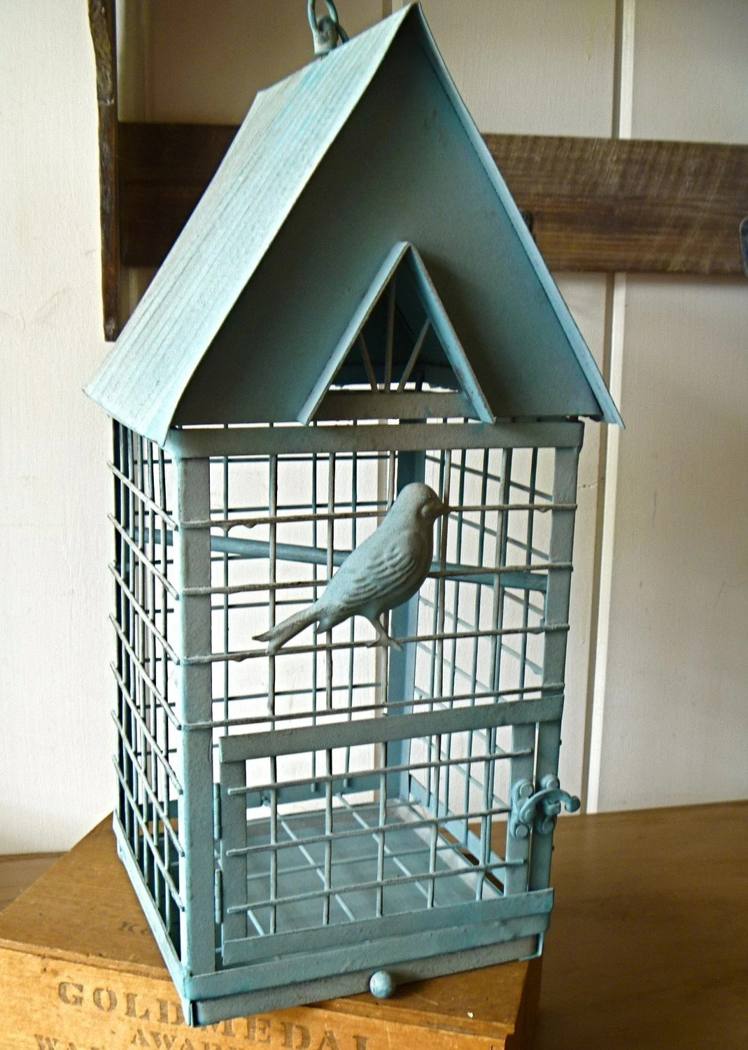 Best French Country Large Blue Bird Cage Great For By This Month