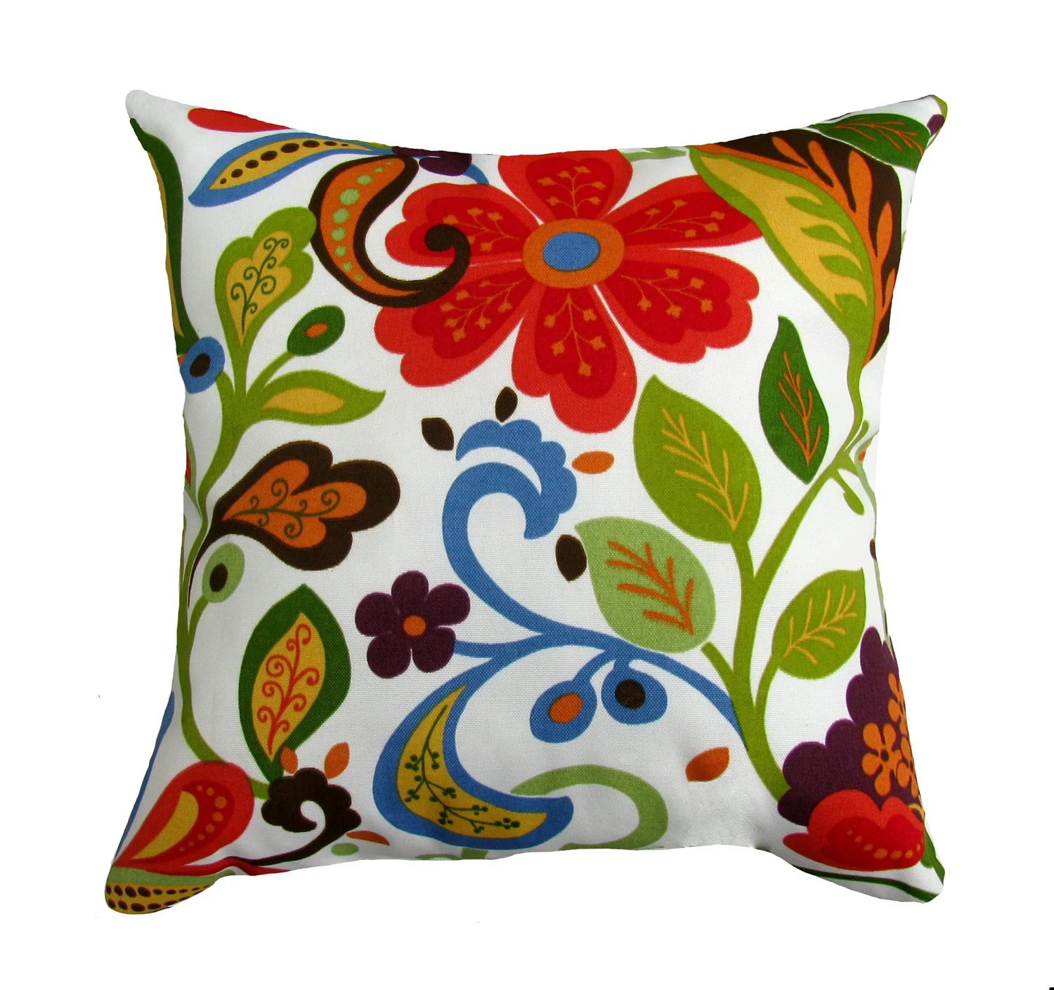 Best Memorial Day Sale Floral Throw Pillow By Landofpillowsdotcom This Month