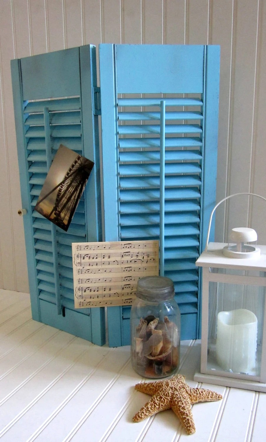 Best Decorative Louver Plantation Wooden Shutter By Cozycottagechic This Month