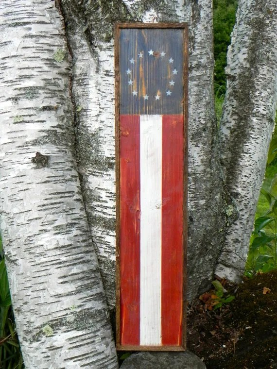 Best American Flag Patriotic Wall Decor Americana By Crowbardsigns This Month