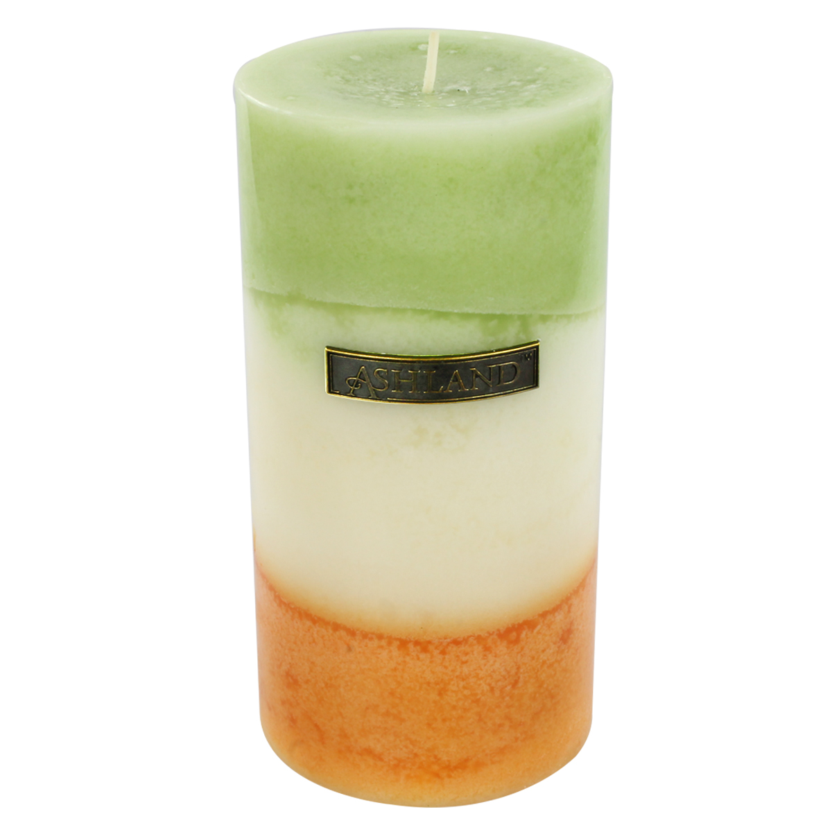 Best Find The 3 X 6 G*Ng*R Citrus Zig Zag Pillar Candle By This Month
