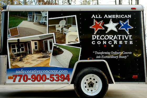 Best Partial Trailer Wrap Makes Full Impact For National Franchise This Month