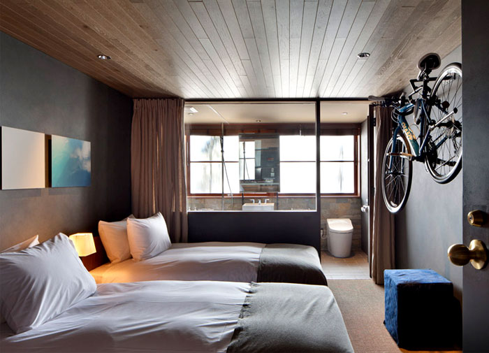 Best Industrial Style Hotel Cycle In Japan Interiorzine This Month