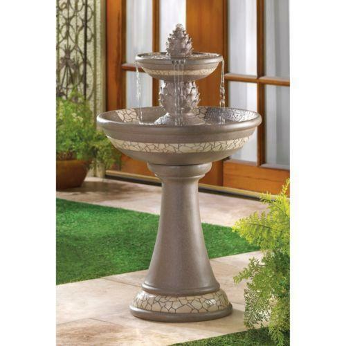 Best Decorative Outdoor Fountains Ebay This Month