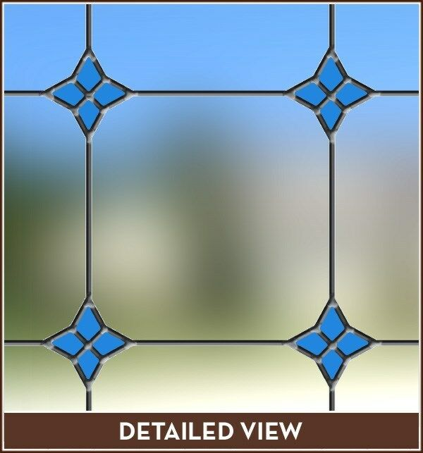 Best New Monterey Blue Stained Glass Window Film Vinyl Static This Month