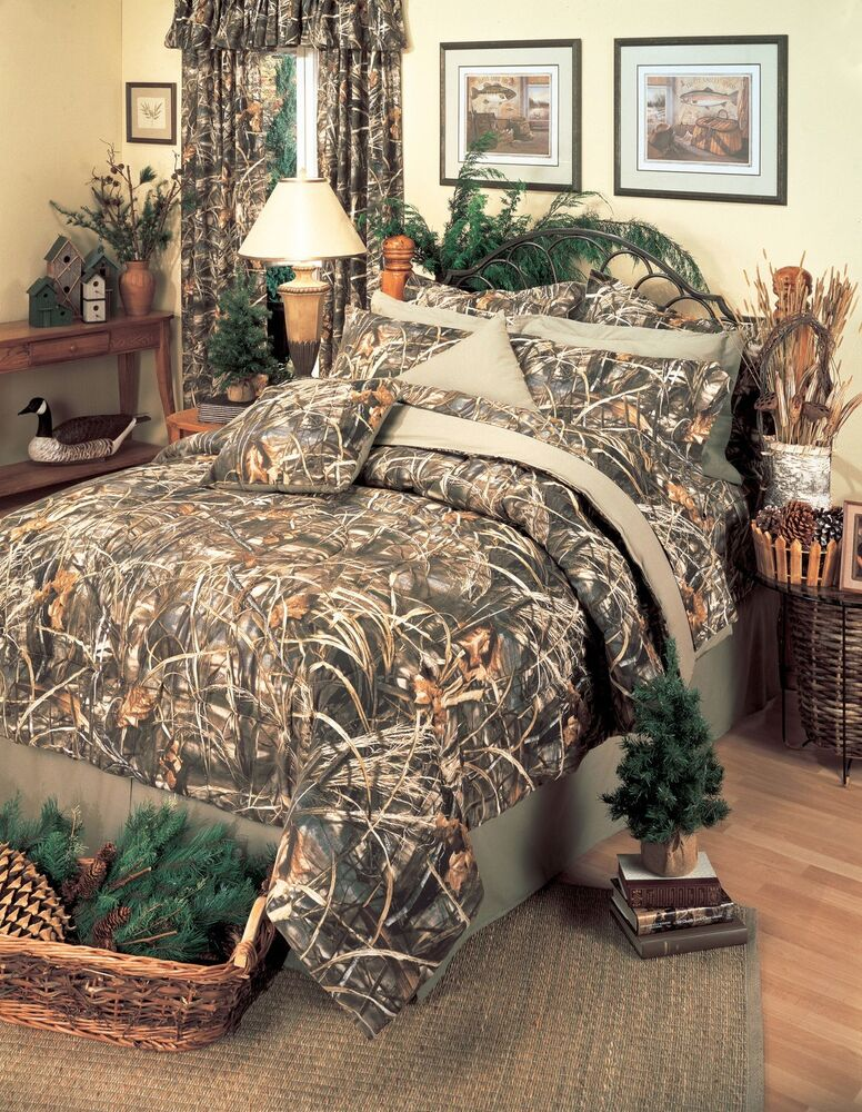 Best Realtree® Max 4 Camo Comforter Set 5 Sizes Camouflage This Month
