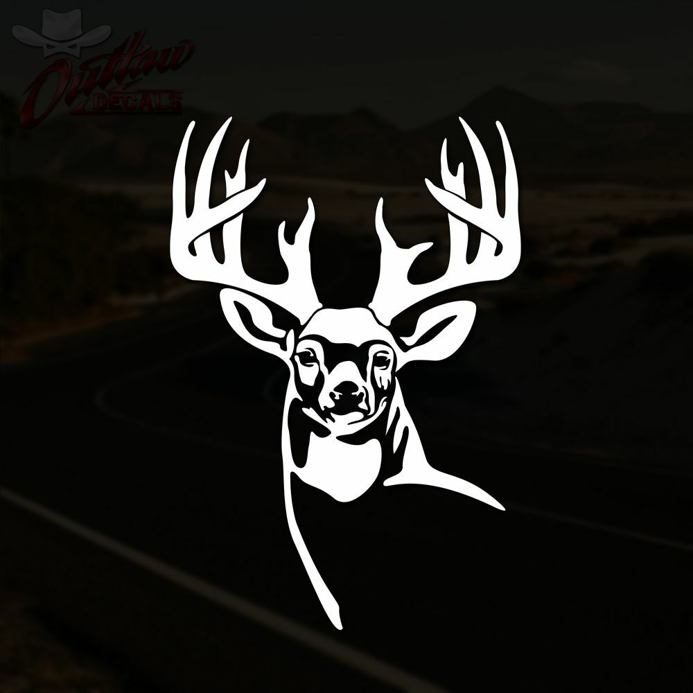 Best Whitetail Deer Decal Buck Hunting Truck Window Vinyl This Month