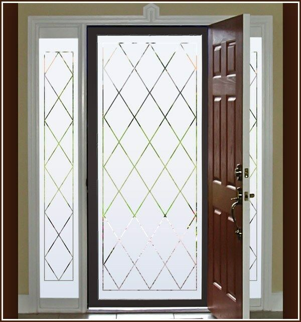 Best New Orleans Semi Privacy Etched Glass Decorative Static This Month