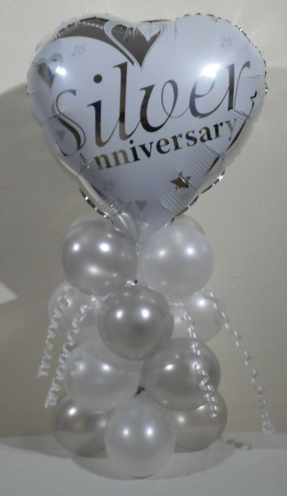 Best Silver Wedding 25Th Anniversary Foil Balloon Display This Month