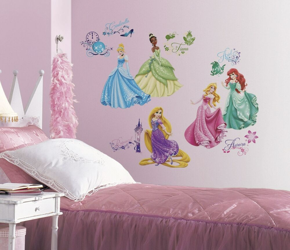 Best Disney Princess Wall Decals New Princesses Royal Debut This Month