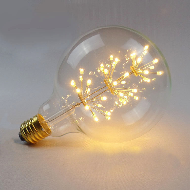 Best Large Fireworks Led Light E27 Edison Vintage Filament Bulb This Month