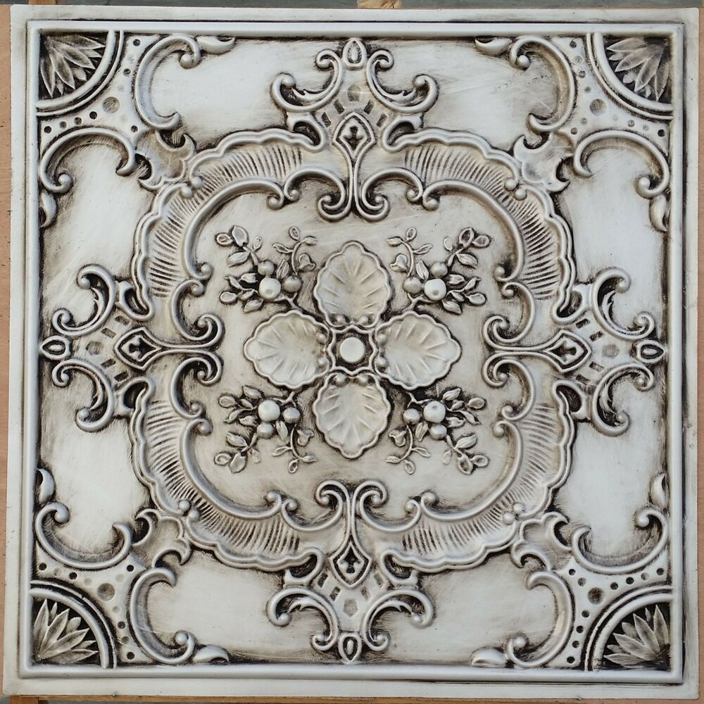 Best Pl19 Faux Tin Countryside Style Ceiling Tiles Decorative This Month