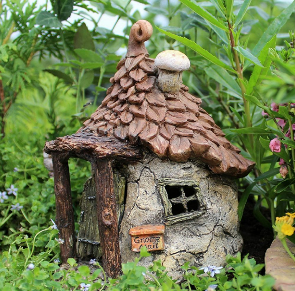 Best Gnomes Get Away Swinging Door Garden Decor Fairy House This Month