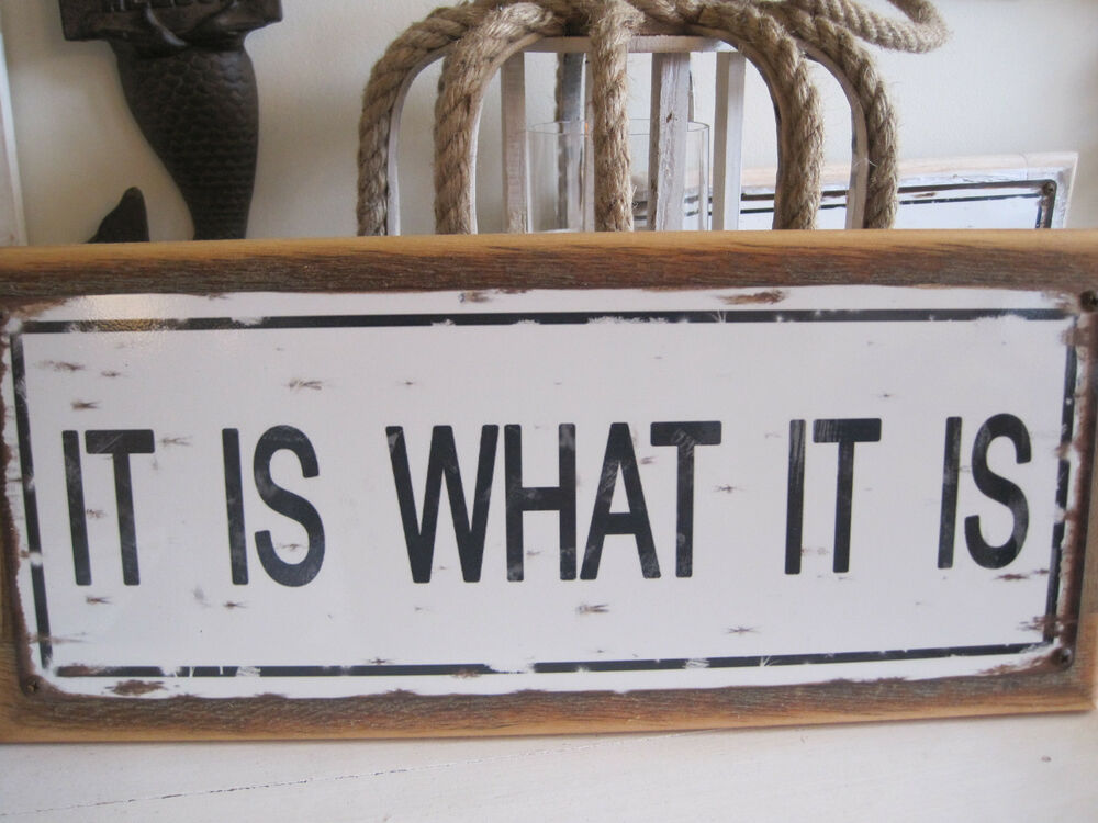 Best It Is What It Is Sign Custom Wooden Sign Beach Decor This Month