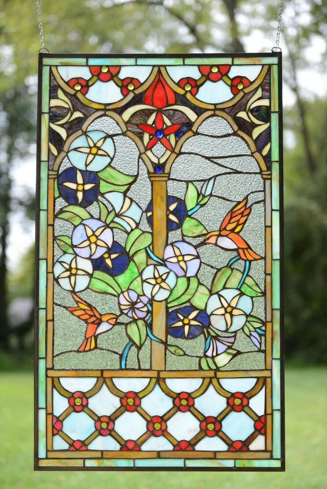 Best 20 X 34 Decorative Tiffany Style Stained Glass Window This Month