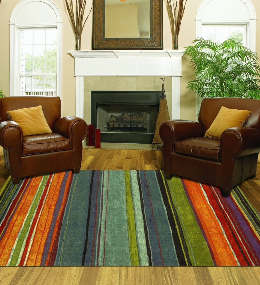 Best Large Area Rug Colorful 8X10 Living Room Size Carpet Home This Month