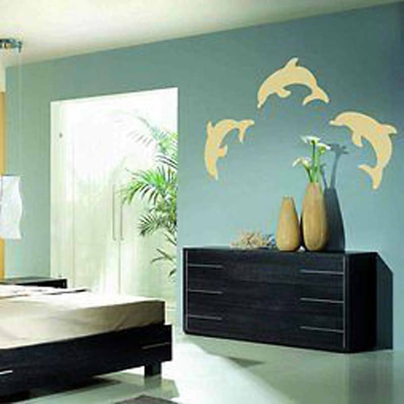 Best 3X Dolphin Ocean Bedroom Graphic Wall Art Decor Sticker Ebay This Month