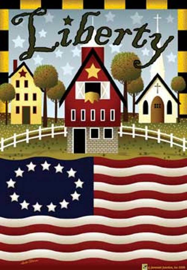 Best Large Liberty Farm Decorative Garden Flag Yard Art Ebay This Month
