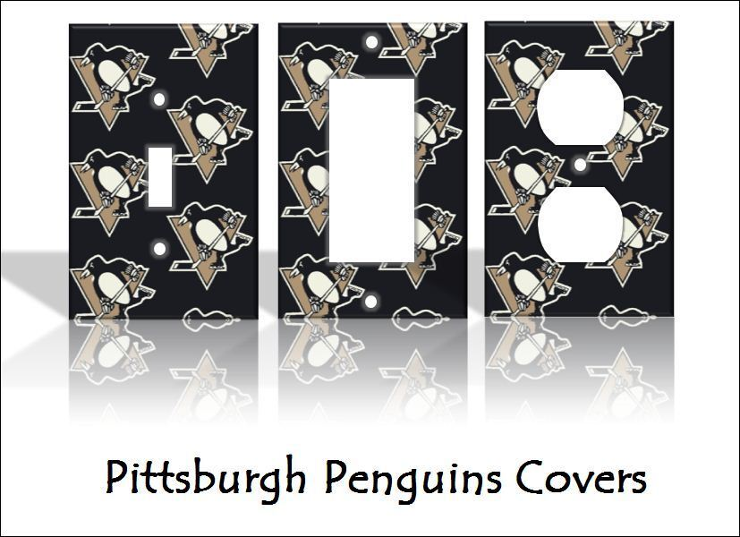 Best Pittsburgh Penguins Light Switch Covers Hockey Nhl Home This Month