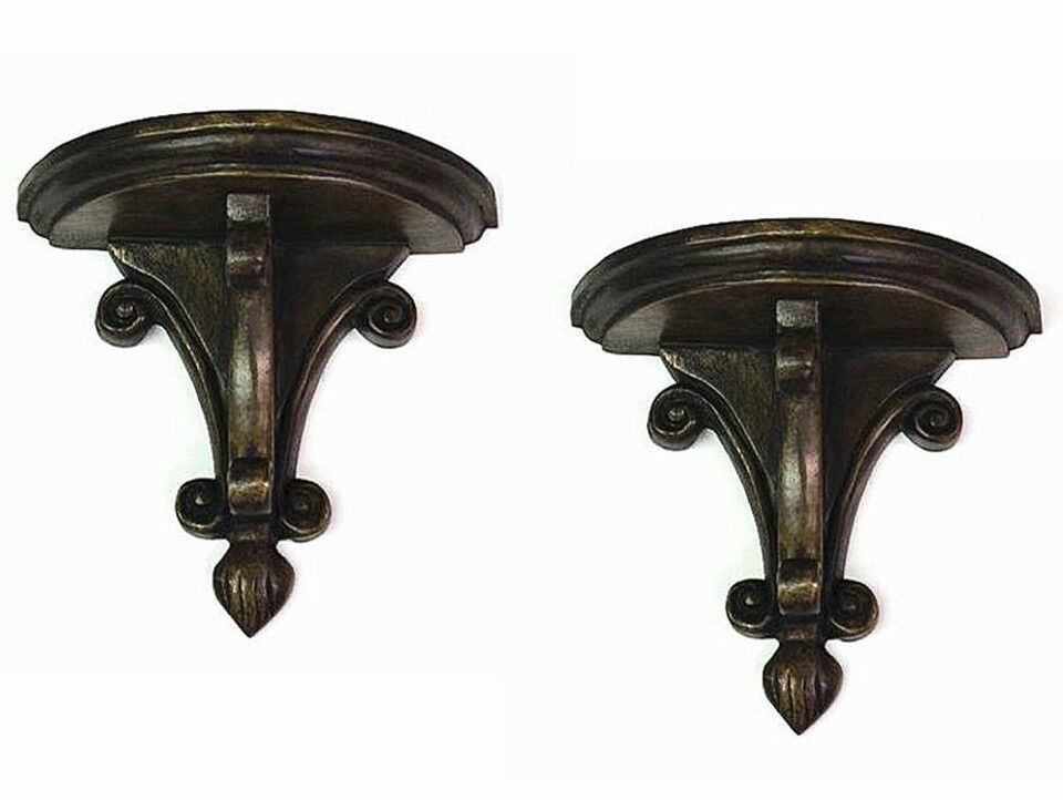 Best Wall Shelves Chantilly Decorative Wall Bracket Pair This Month