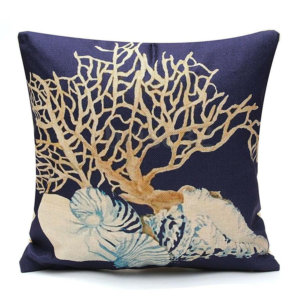 Best Home Decor Throw Pillow Case Ocean Coastal Beach Nautical This Month