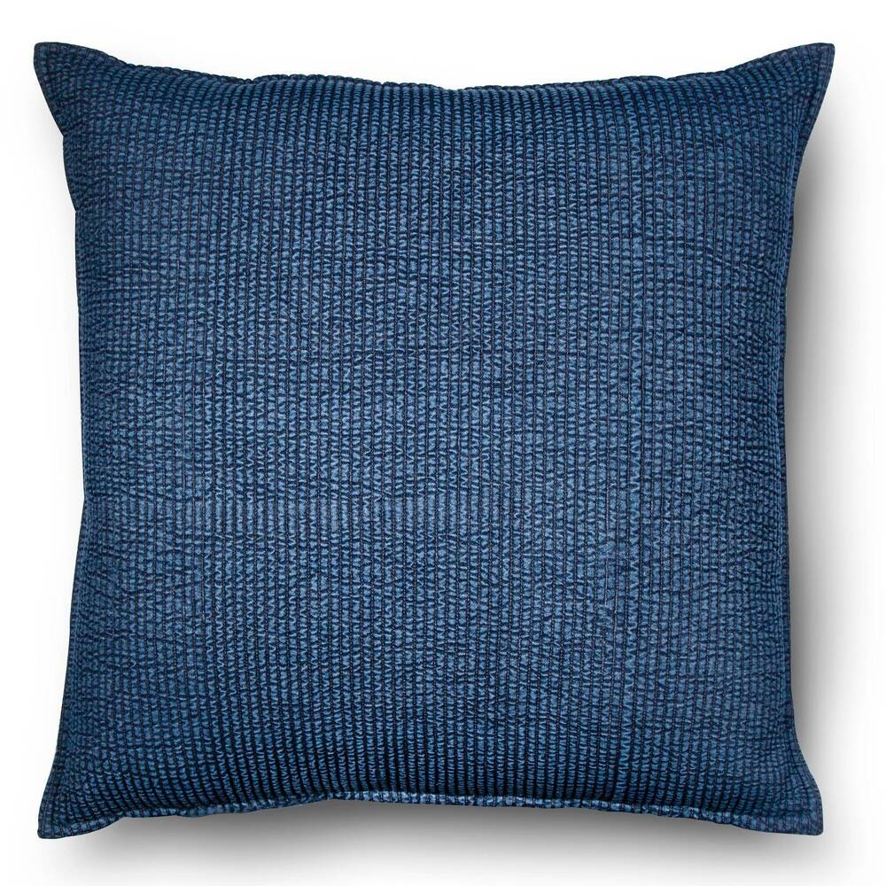 Best Blue Oversized Chambray Denim Throw Pillow Threshold Ebay This Month