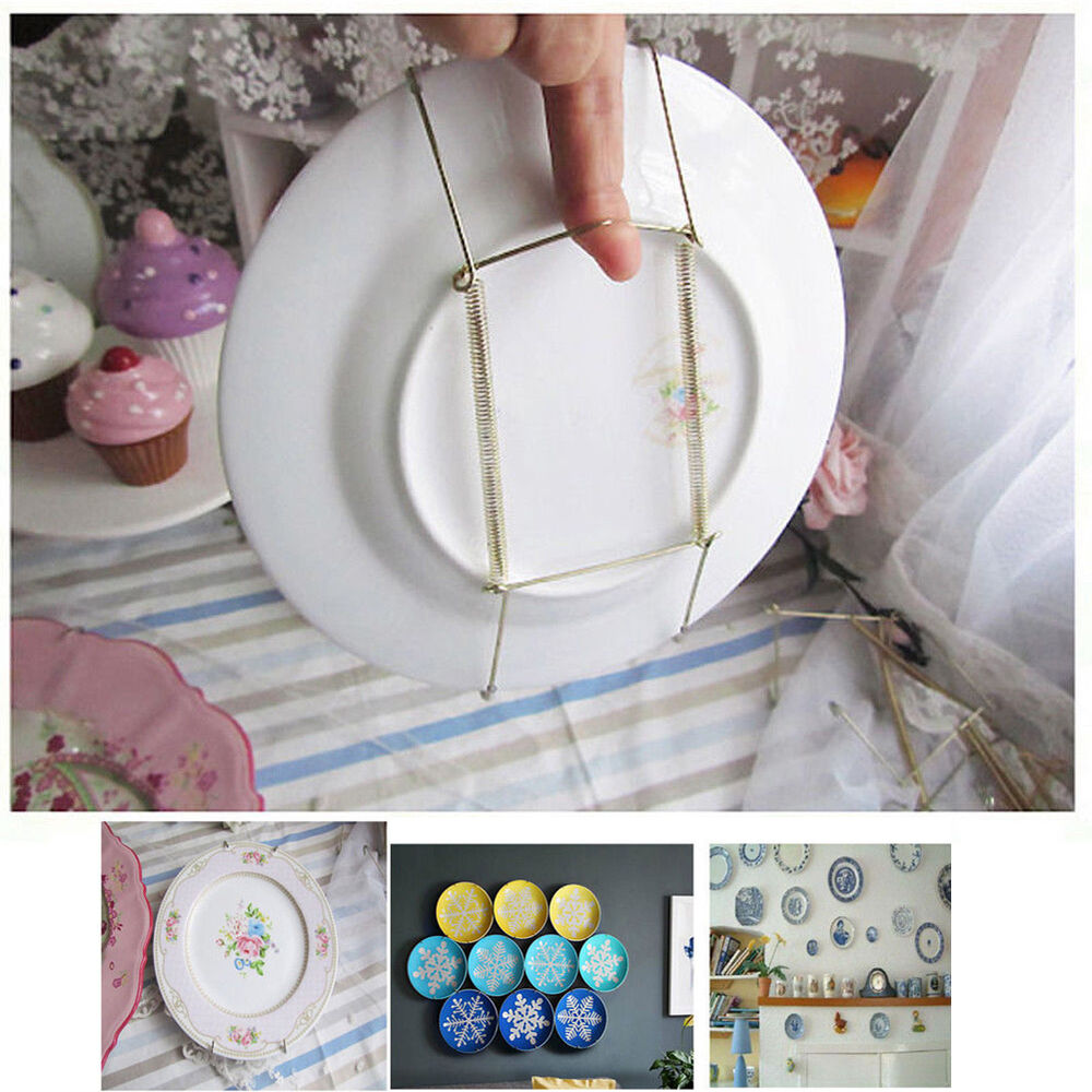 Best 10Pcs 8 14 Plate Hanger Plate Dish Display Plate Hangers This Month