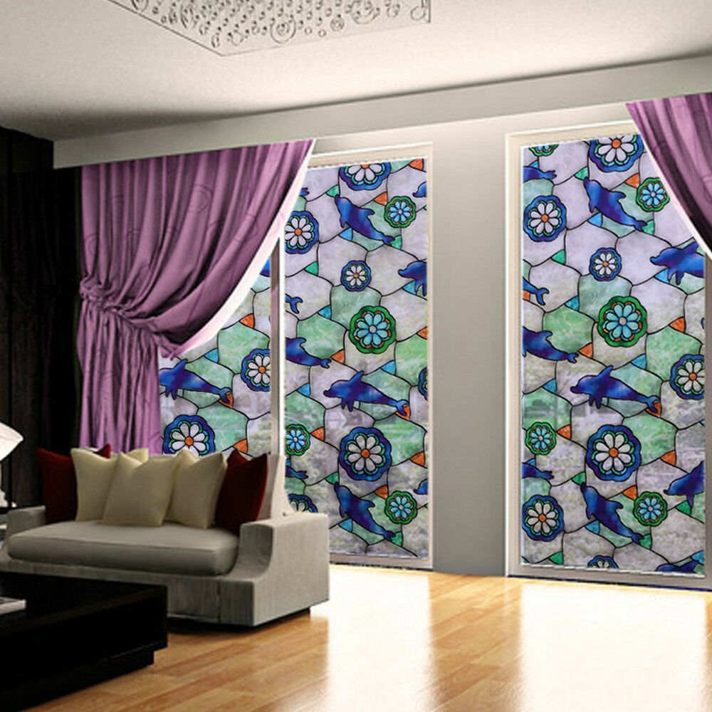 Best Static Cling Cover Stained Window Film Glass Privacy Diy This Month