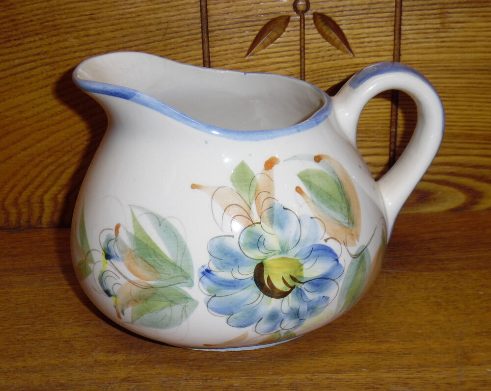 Best Decorative Pottery Pitcher Hand Painted Portugal This Month