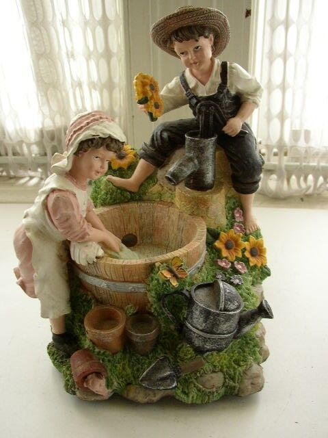 Best Heritage Mint Ltd Girl And Boy Decorative Water Fountain This Month