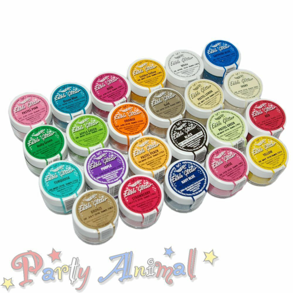 Best Rainbow Dust 100 Edible Glitter Cake Decorating This Month