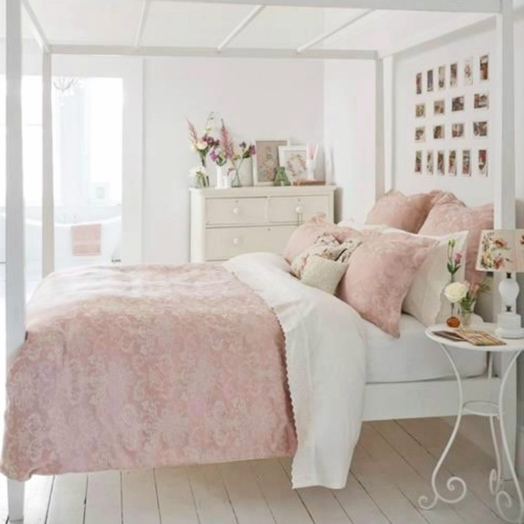 Best Blush Pink Bedroom Ideas Dusty Rose Bedroom Decor And This Month