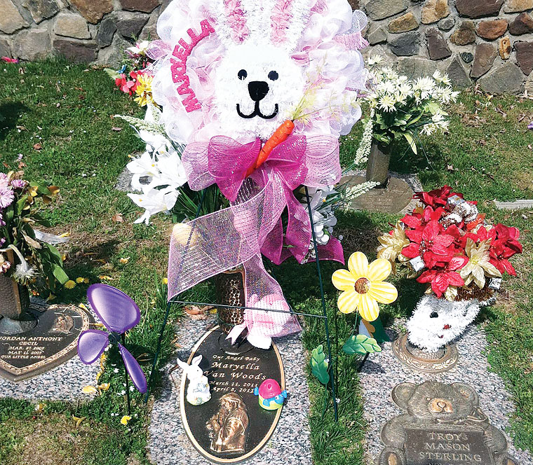 Best Easter Decorations Stolen From Chesapeake Girl S Grave This Month