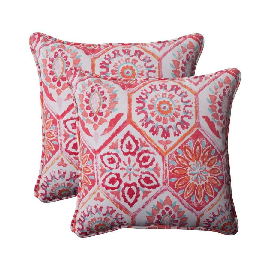 Best Shop Pillow Perfect Summer Breeze 2 Pack Flame Floral This Month