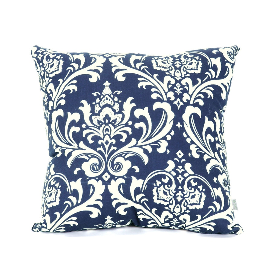Best Shop Majestic Home Goods Navy Blue French Quarter Floral This Month