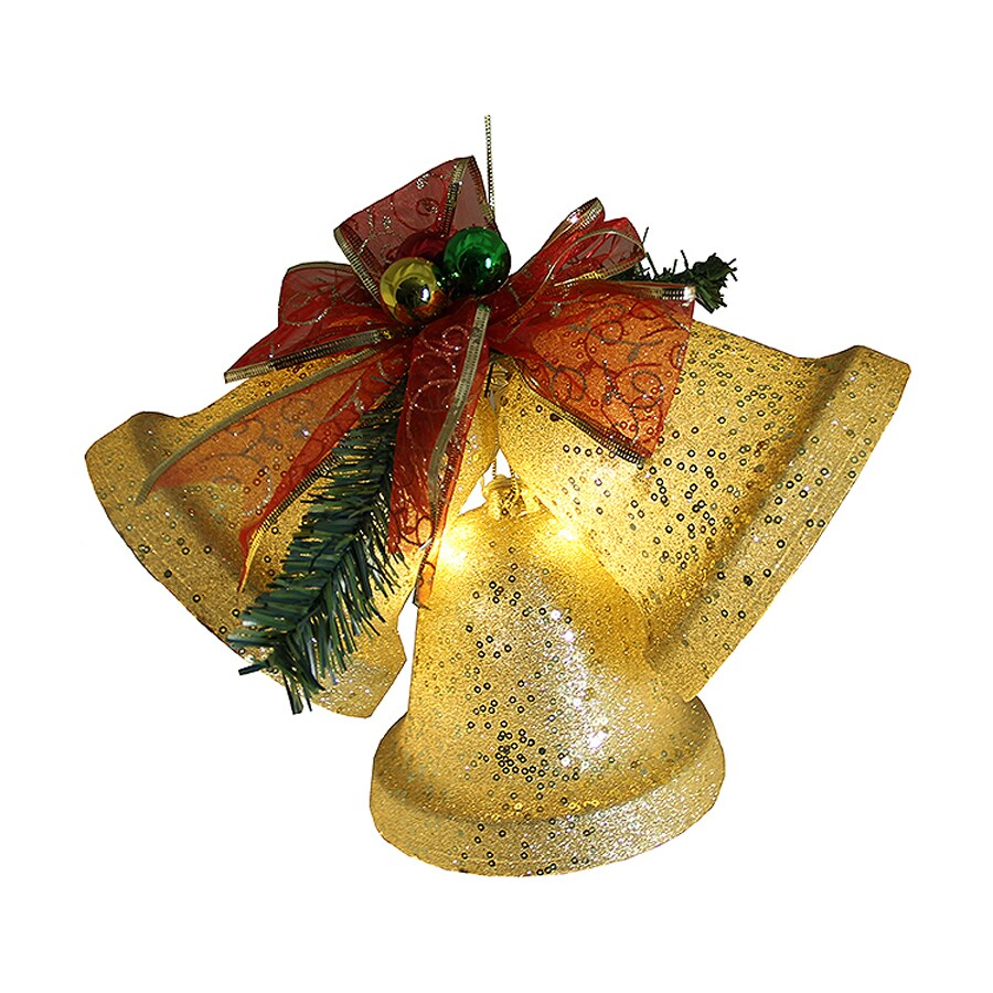 Best Shop Northlight Lighted Gold Hanging Bell Indoor Christmas This Month