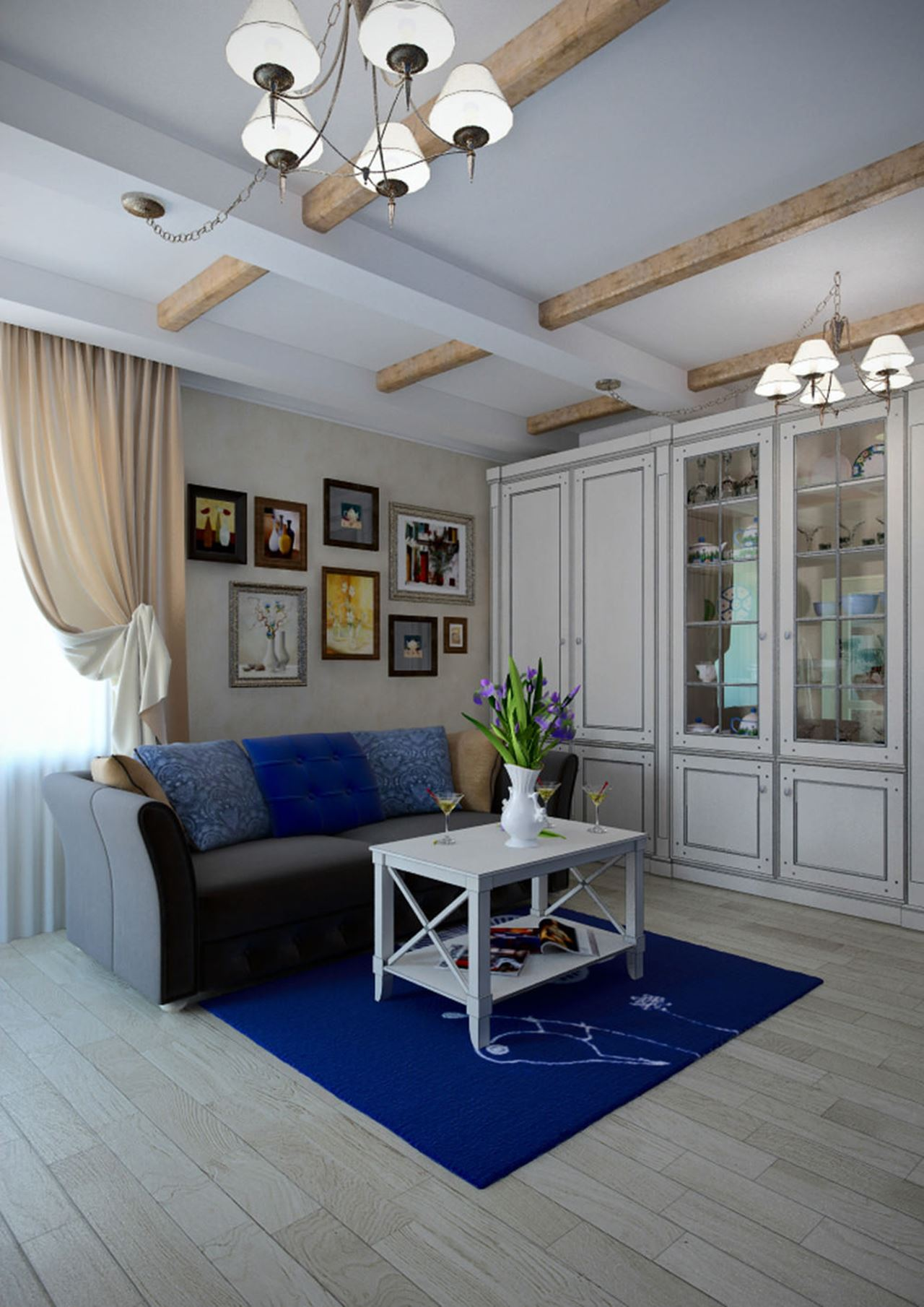Best Apartment Interior Design In The Provence Style This Month