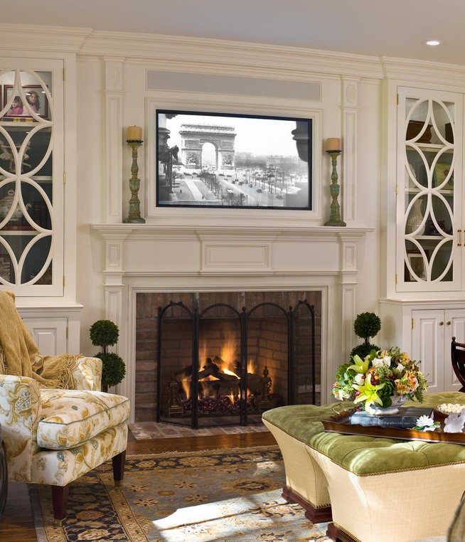 Best Placing A Tv Over Your Fireplace A Do Or A Don T This Month