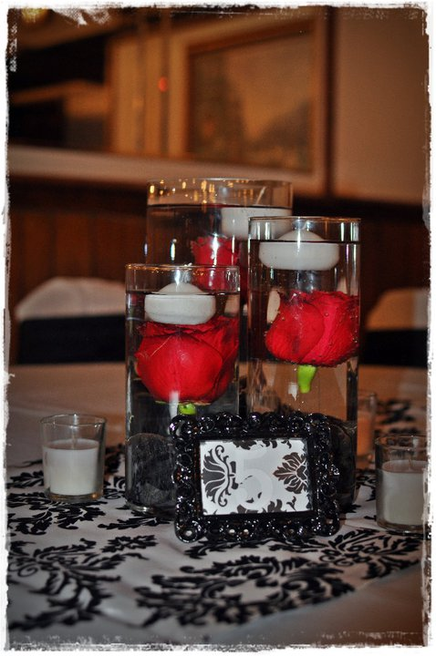 Best Black And White Wedding Centerpieces Idea With A Touch Of This Month
