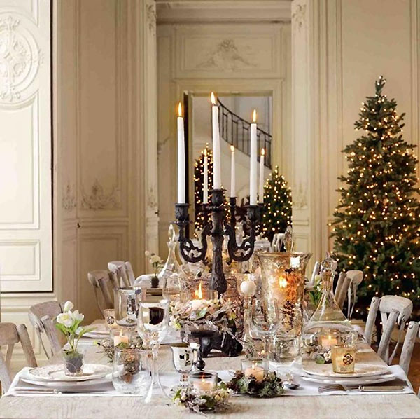 Best Breathtaking Christmas Tablescape Ideas This Month