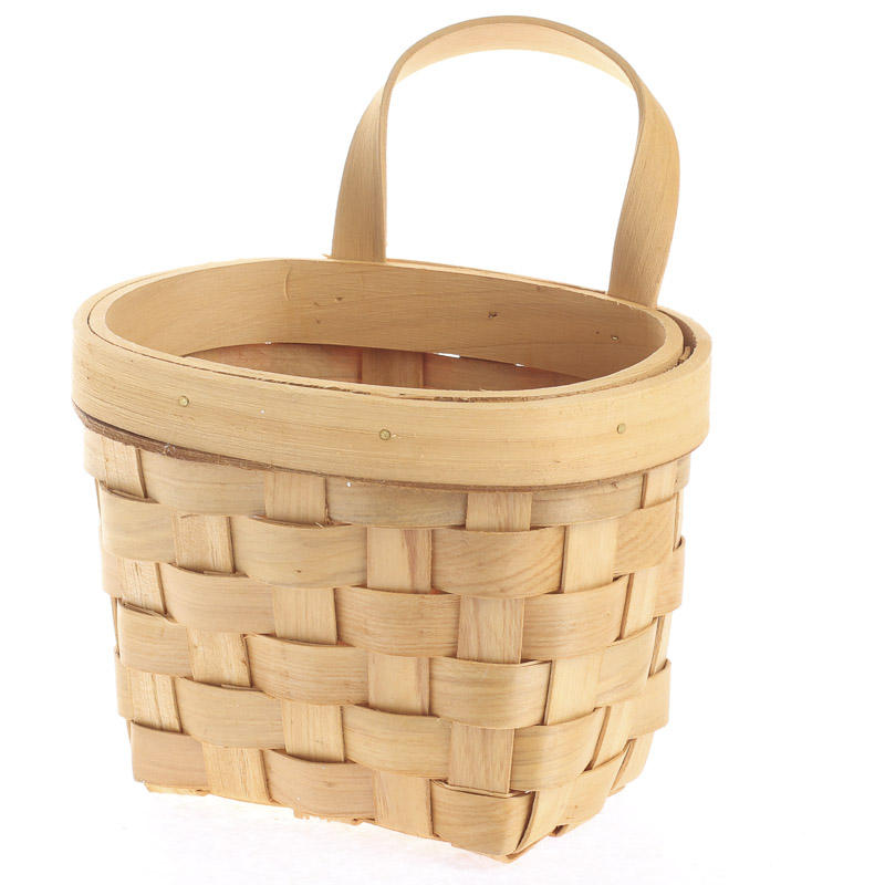 Best Natural Woodchip Wall Basket Baskets Buckets Boxes This Month