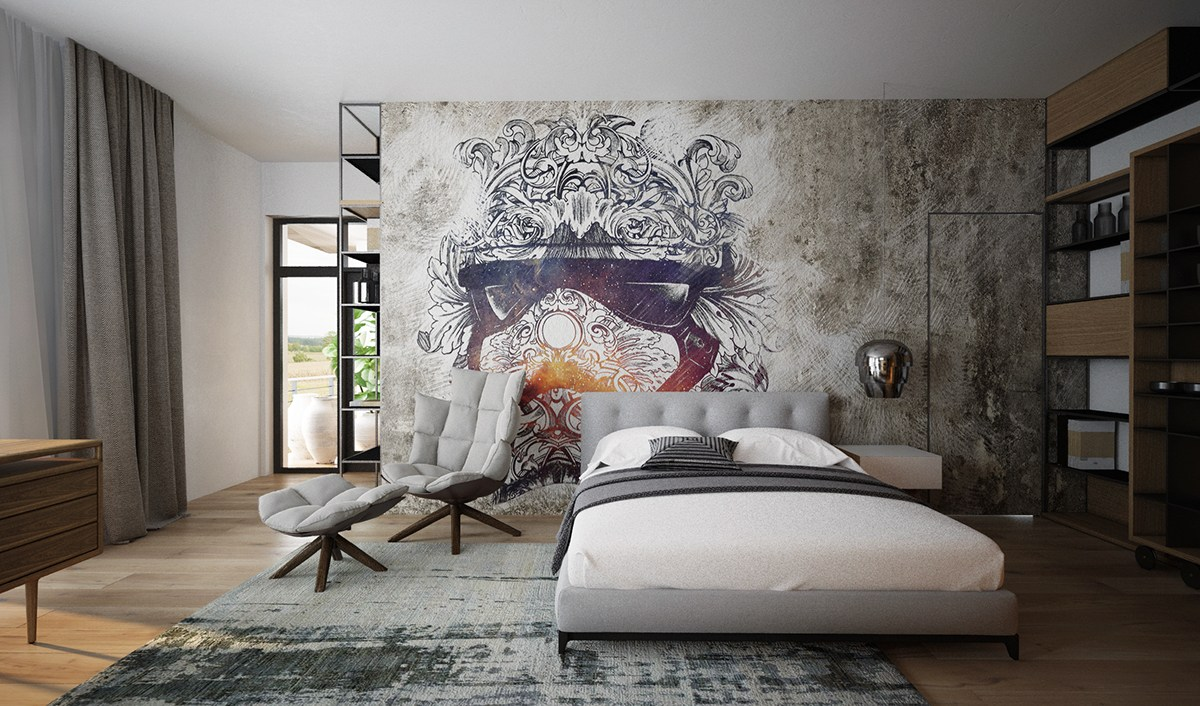 Best 3 Luxury Homes Taking Different Approaches To Wall Art This Month