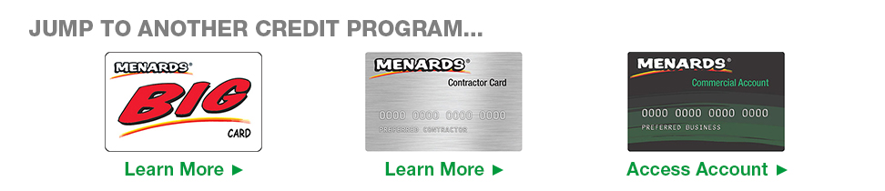 Best Commercial Card At Menards® This Month